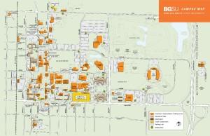 BGSU Campus Map